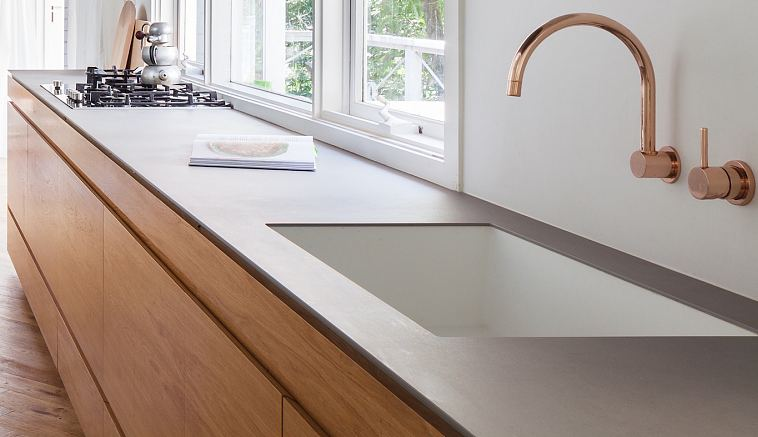 Maximum Aster Mercury kitchen counter Riverview House.jpg