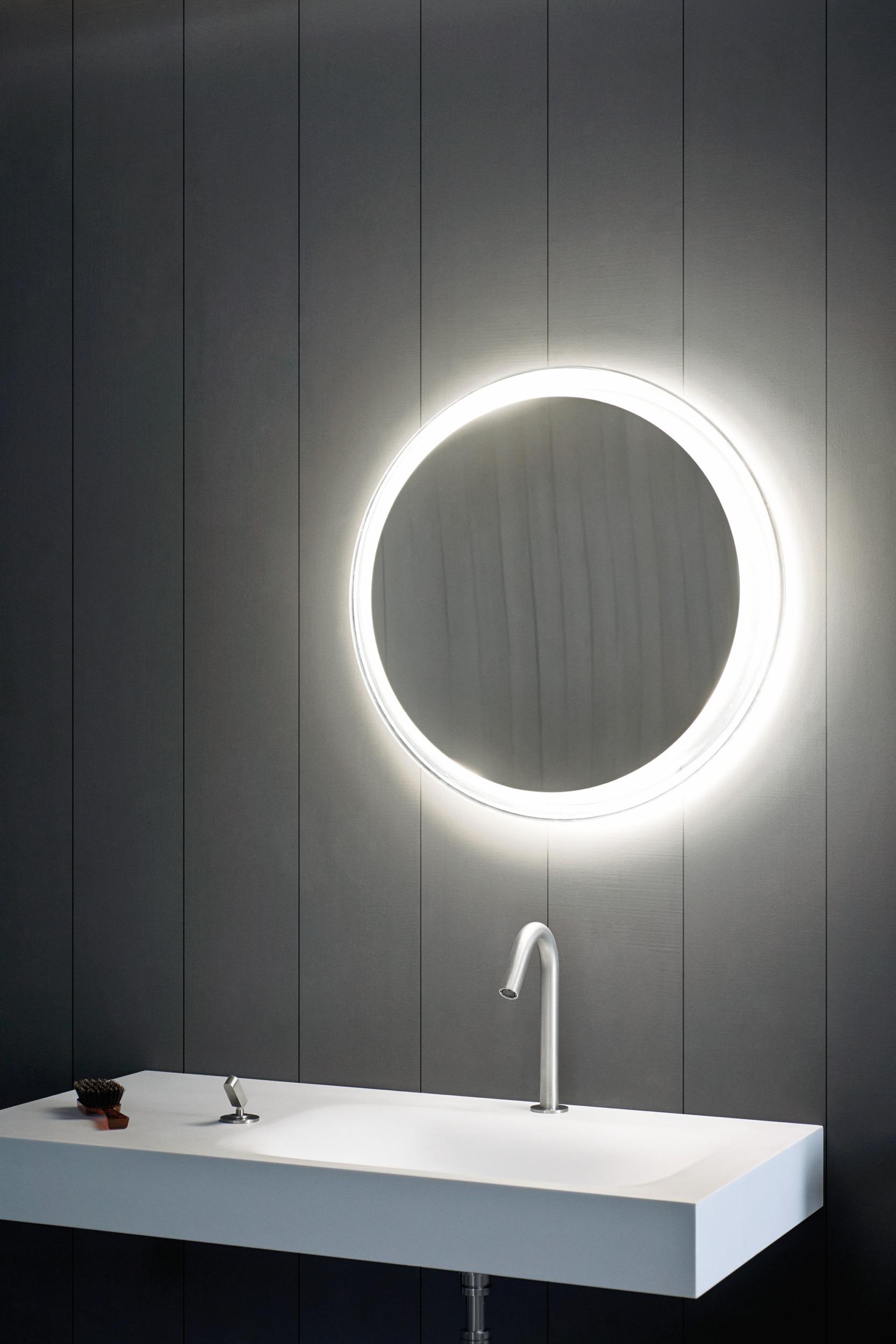 Solid Mirrors Bathware Furniture Bathroom Mirrors