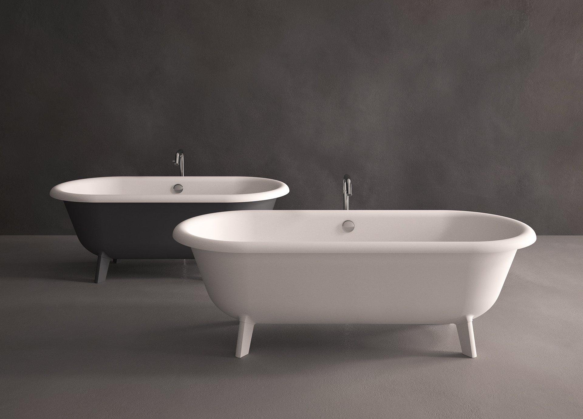 Artedomus ottocento small bathtubs for Low bathtubs