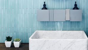 Inax Arcaico Border ARC-2, Agape Sen grey tap and shelves and Agape Carrara basin 2.jpg