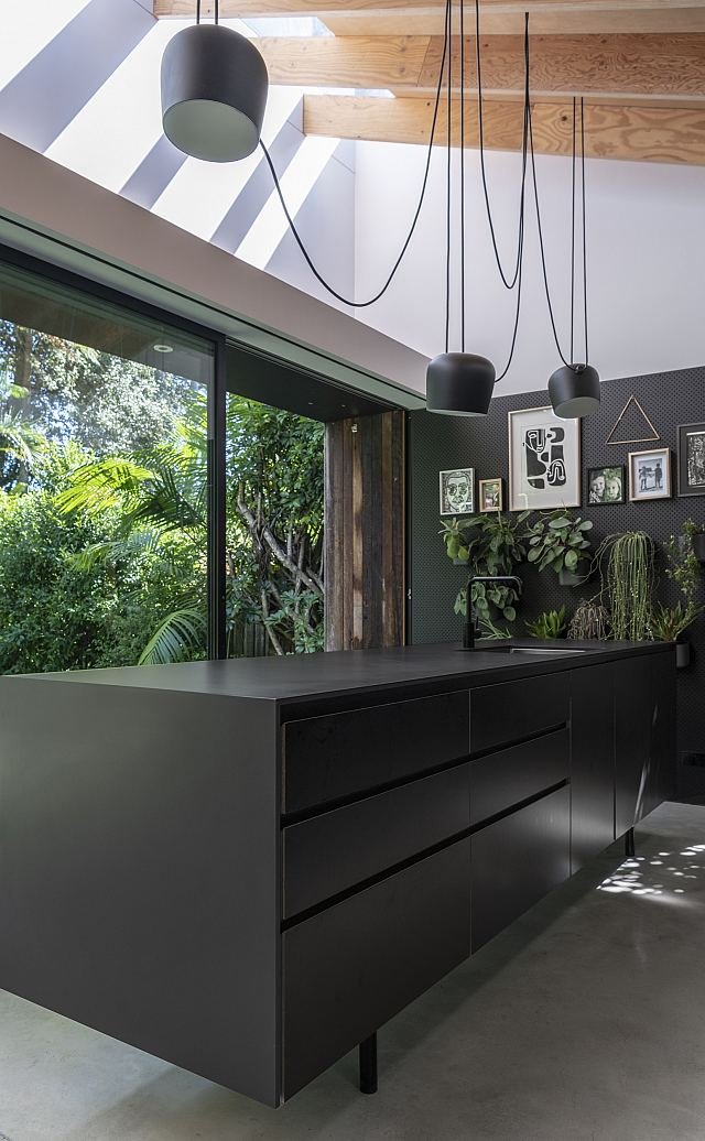 Artetech Ombra Carbone bench tops and island. Design by MCK Architects. .jpg