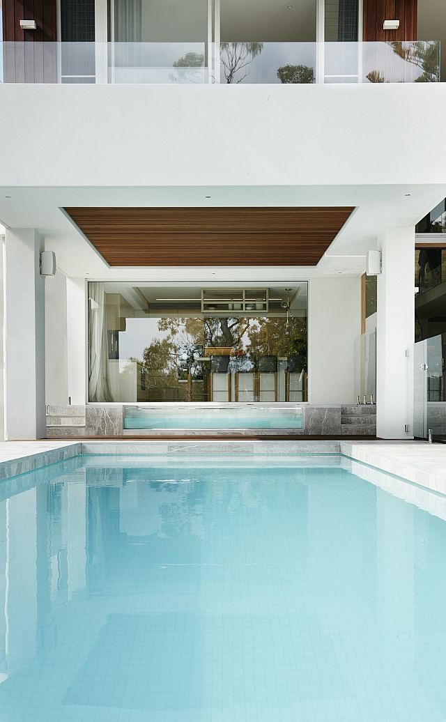 Licycon Flamed and Brushed 30mm in most areas, pool surround 40mm thick. Beach House by EB Interiors. Photography by Prue Ruscoe - 05.jpg
