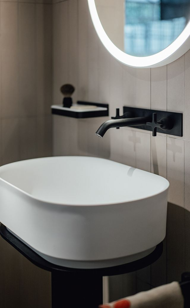 Memory Wall Mounted Dual Control Taps For Basins in Black.jpg