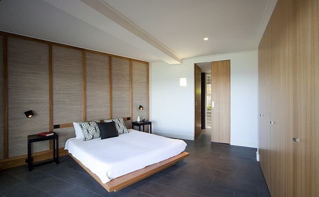 Pietre Basaltina Honed and Unfilled bedroom floor, Sunrise Rd Palm Beach 2.jpg