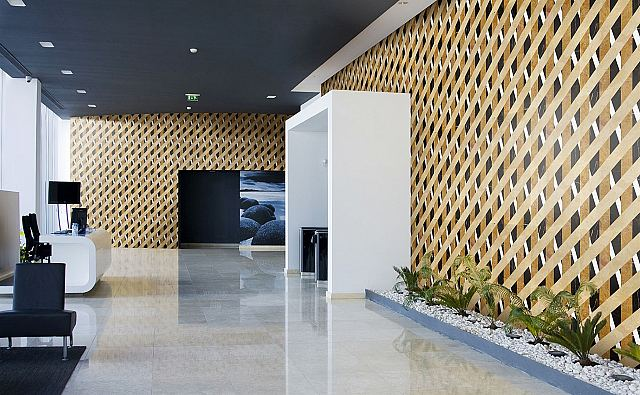 Lithos Design Opus Bambu Deserto marble feature wall.jpg