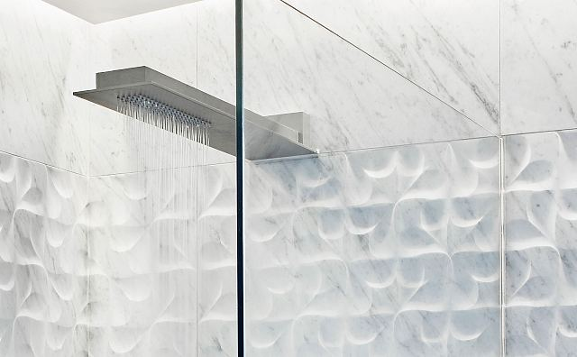 Agape Sen grey shower and Lithos Virgola Carrara 2.jpg