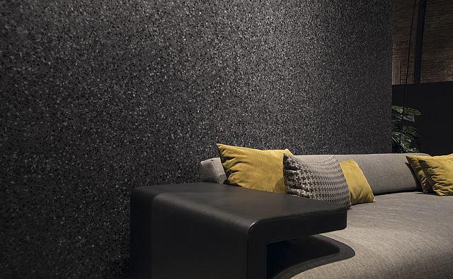 Terrazzo Nero Exteriors Pressed Porcelain Panels