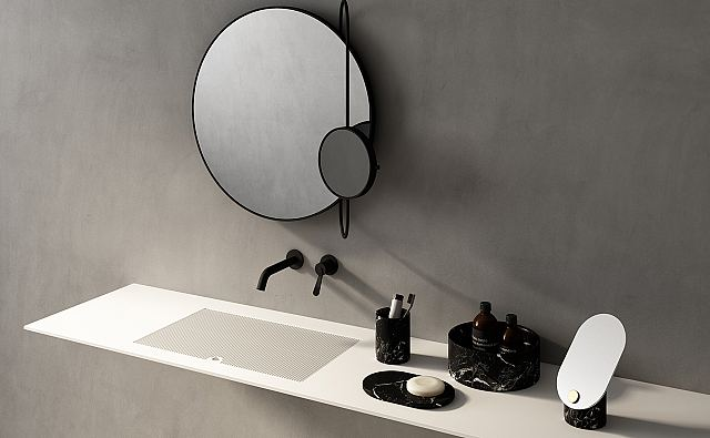 Agape Revolving Moon mirror and Constellation accessories by Studiopepe.jpg